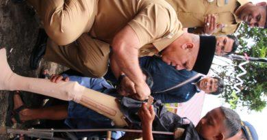 Bupati Salurkan Alat Bantu untuk Warga Disabilitas Blang Mancung
