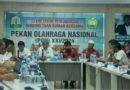 Aceh dan Sumut Tandatangani Pembagian Cabor