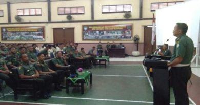 Korem 011 Lilawangsa Gelar Sosialisasi Ops Gaktif dan Yustisi Wira Rencong