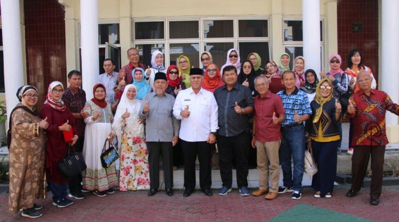 Komunitas Senam asal Medan Wisata ke Gayo